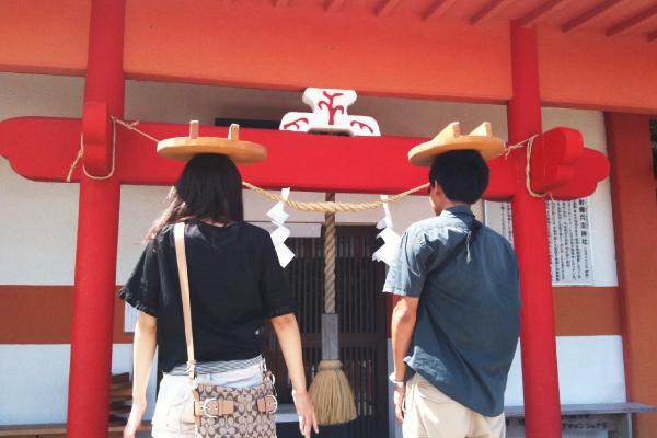 勝負事のパワースポット釜蓋神社