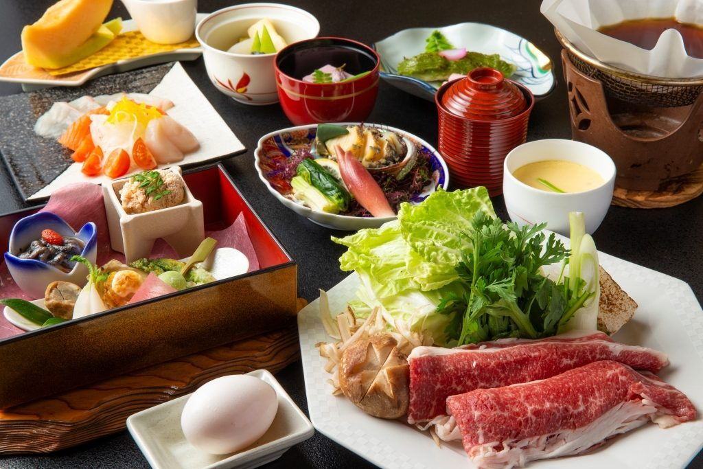 鹿児島の旬の食材を使った特別会席をお楽しみください